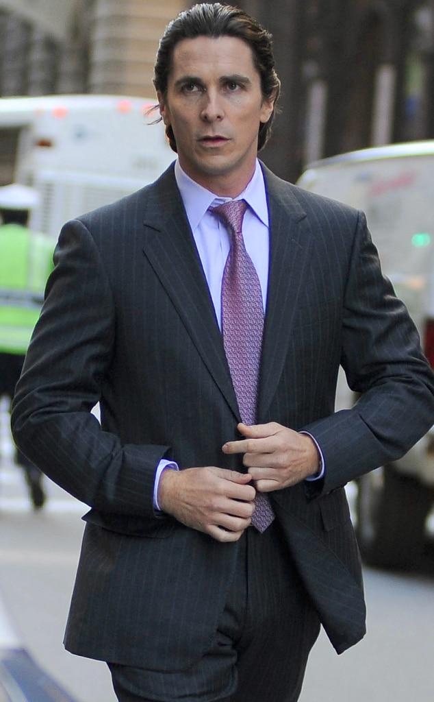 Christian Bale, Dark Knight Rises Set