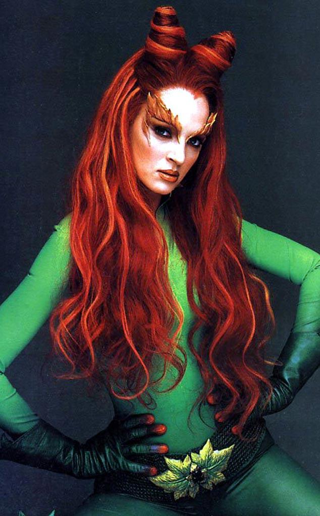 BATMAN FOREVER, Poison Ivy, Uma Thurman