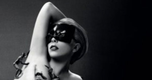 Lady Gaga goes nude for Fame perfume ad