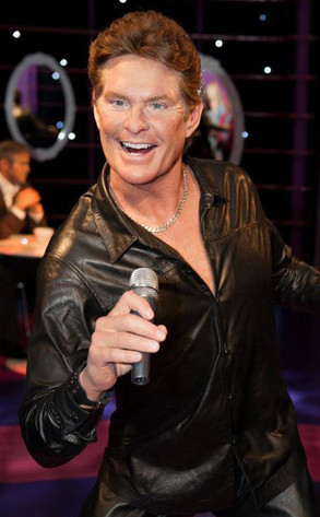 David Hasselhoff Gets Waxed For His 60th Birthday E News