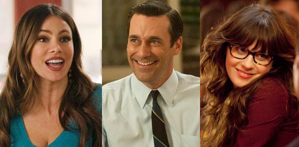Emmys, Sofia Vergara, Jon Hamm and Zooey Deschanel