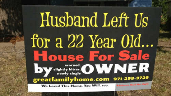 House For Sale Sign Chelsea X2