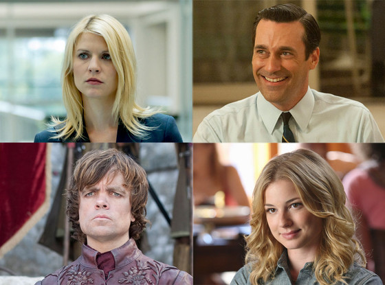 Emmy Contender, Claire Danes, Jon Hamm, Emily VanCamp, Peter Dinklage