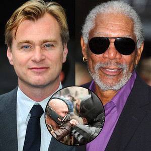 Christopher Nolan, Morgan Freeman