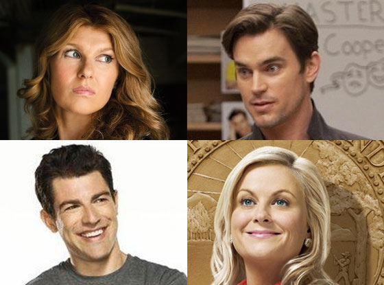 Matt Bomer, Connie Britton, Max Greenfield, Amy Poehler