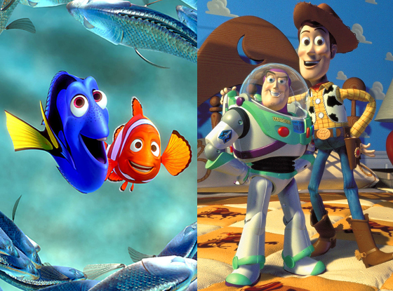 Finding Nemo, Toy Story