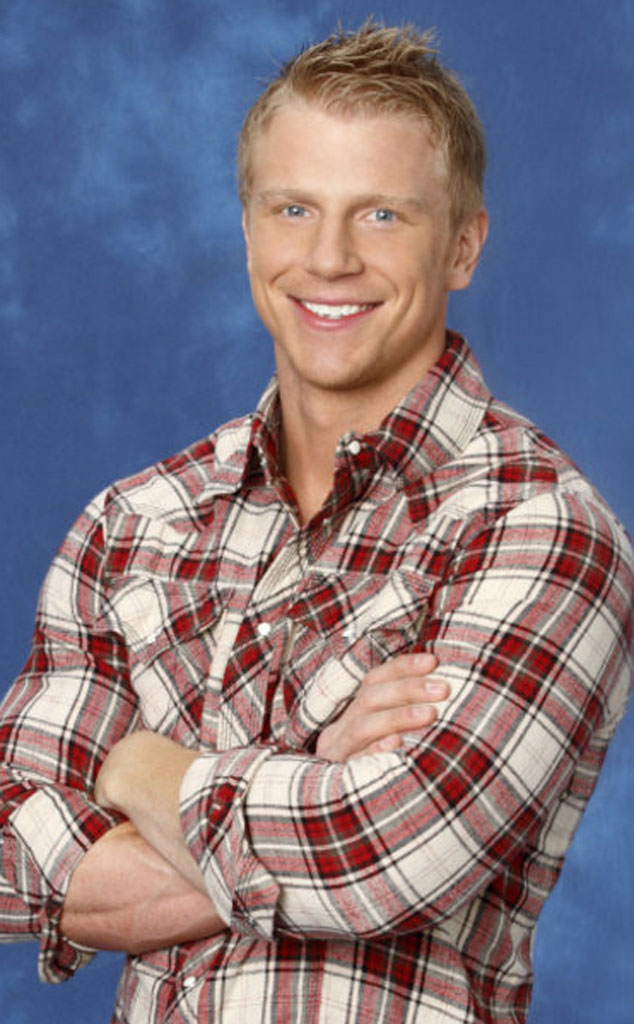 """Sean Lowe -  Lowe competed on  Emily Maynard 's season of  The Bachelorette . He then handed out the roses on season 17 of  The Bachelor  and described himself as a """"born-again virgin."""""""