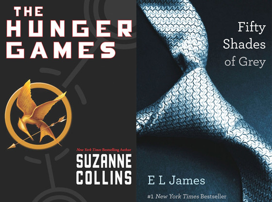 The Hunger Games, Fifty Shades of Grey