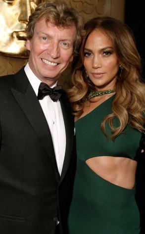 Nigel Lythgoe, Jennifer Lopez
