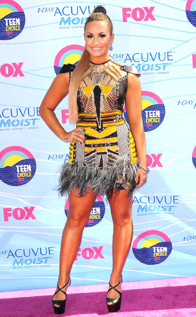 TEEN CHOICE 2012, Demi Lovato