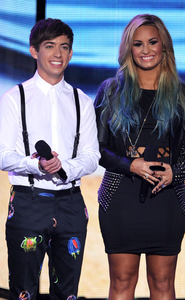 TEEN CHOICE 2012, Kevin McHale, Demi Lovato