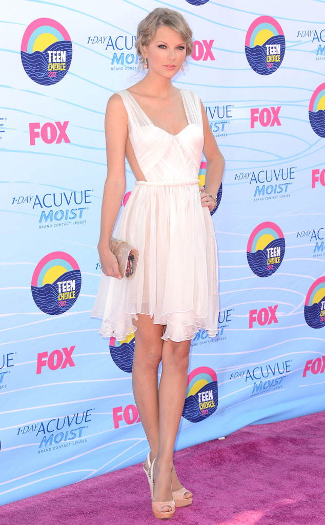 TEEN CHOICE 2012, Taylor Swift