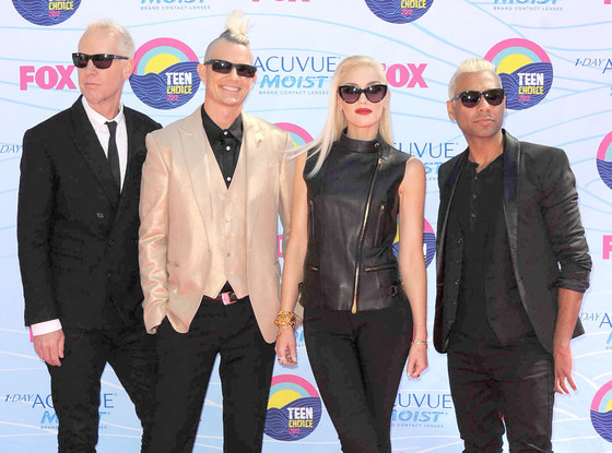 TEEN CHOICE 2012, No Doubt