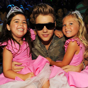 Justin Bieber, Sophia Grace Brownlee, Rosie McClelland, Teen Choice Awards