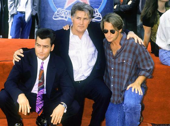 Charlie Sheen, Martin Sheen, Emilio Estevez