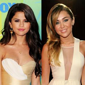 Selena Gomez, Miley Cyrus