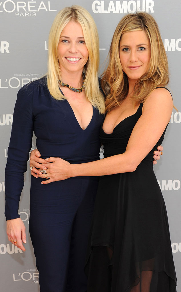 Chelsea Handler, Jennifer Aniston