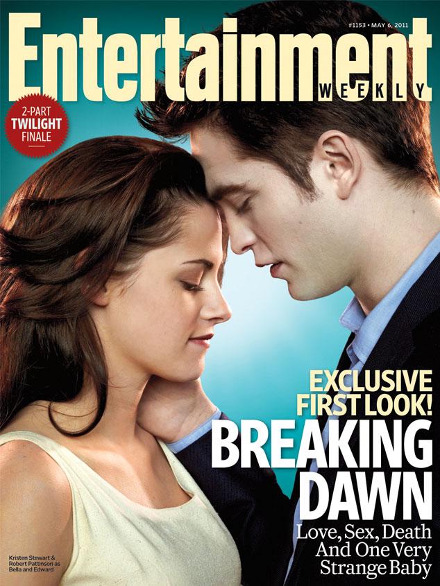 Kristen Stewart, Robert Pattinson, Magazine Cover