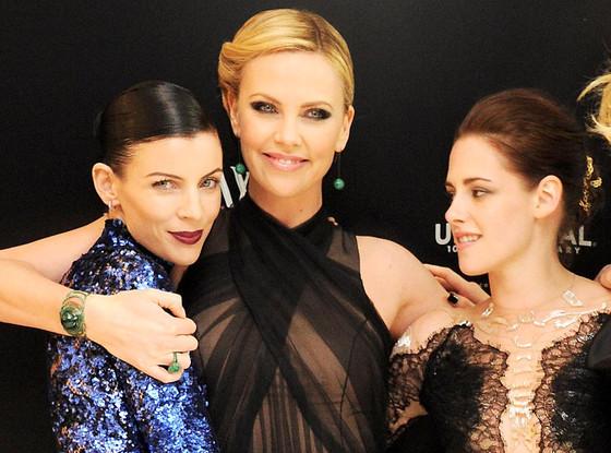 Liberty Ross, Charlize Theron, Kristen Stewart