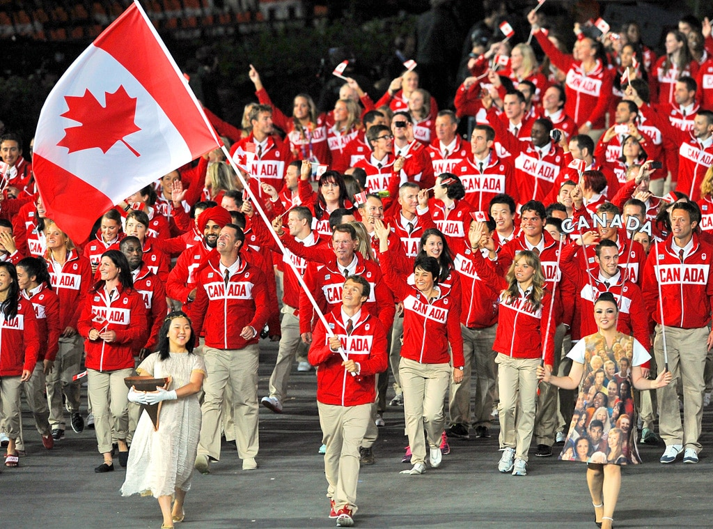 Team Canada, London Olympic Opening Ceremony