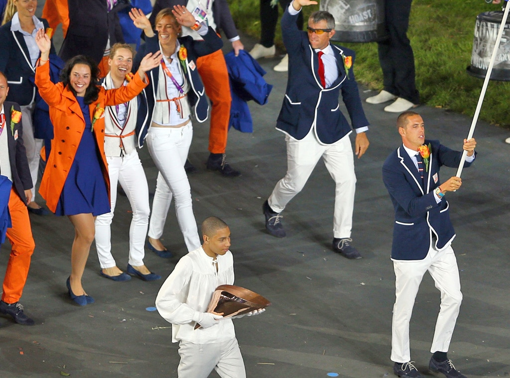 Team Netherlands, London Olympic Opening Ceremony