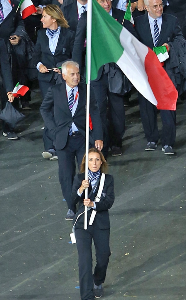 Team Italy, London Olympic Opening Ceremony