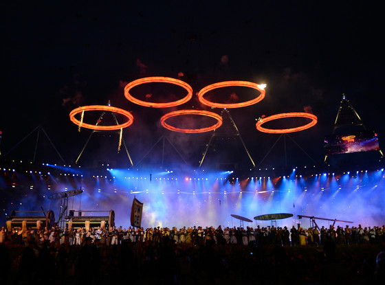 Opening Ceremony, London Olympics