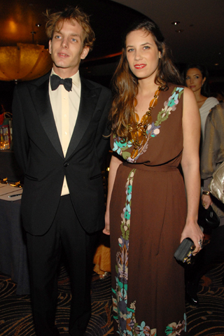 andrea casiraghi, tatiana santo domingo