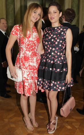 Jennifer Lawrence, Marion Cotillard