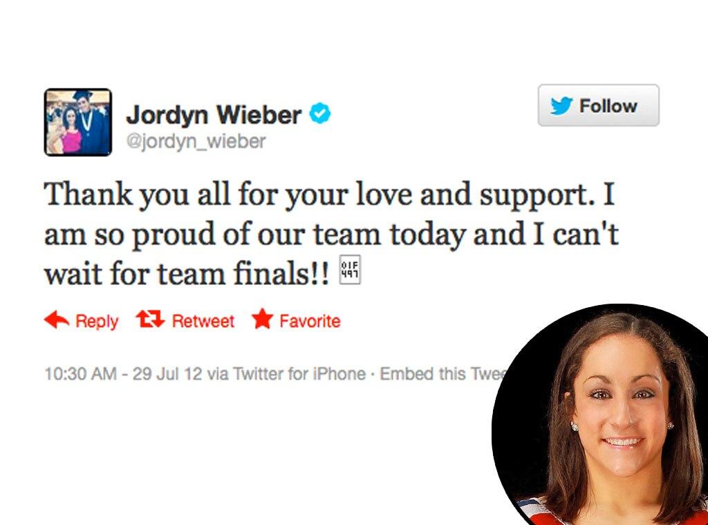 Olympic Tweets, Jordyn Wieber