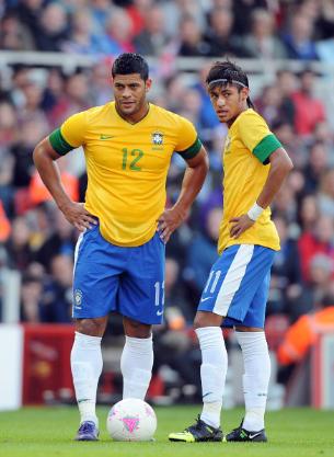 Neymar, Hulk, seleção brasileira