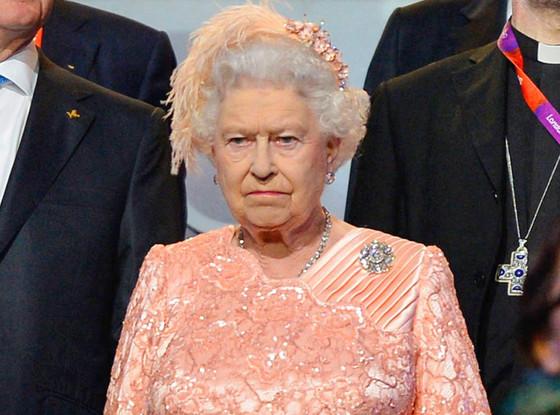 Queen Elizabeth, opening ceremony