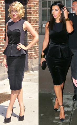 Kim Kardashian, Dianna Agron