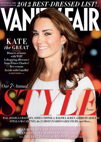 Duchess Catherine, Kate Middleton, Vanity Fair cover