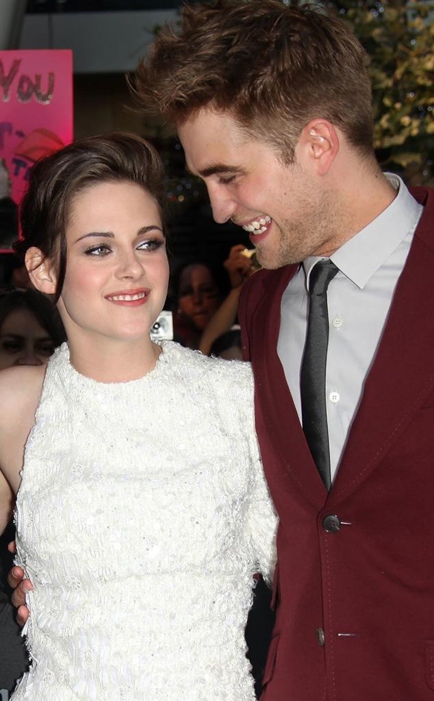 Kristen stewart robert pattinson on When Robert