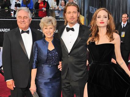 Bill Pitt, Brad Pitt, Jane Pitt, Angelina Jolie