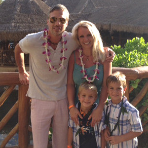 Britney Spears Throws Birthday Blowout For Sons Sean And