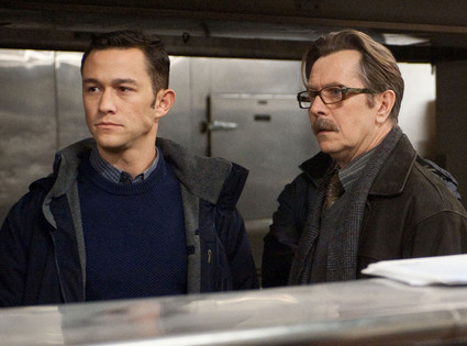Joseph Gordon Levitt, Gary Oldman, The Dark Knight Rises