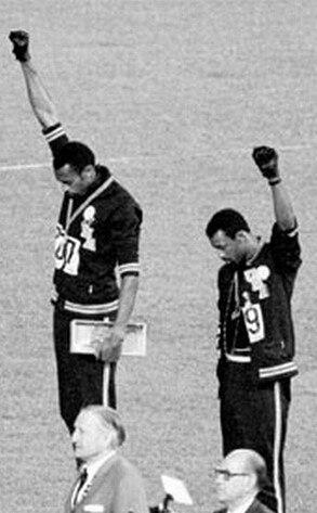 Olympics in Pop Culture, Tommie Smith & John Carlos