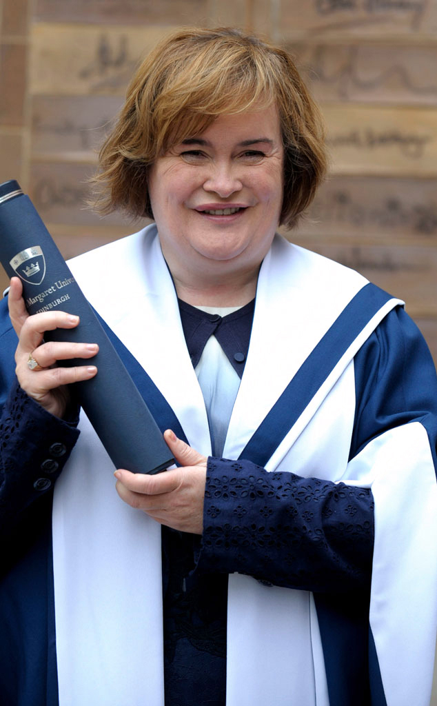 Susan Boyle, Honorary Degree
