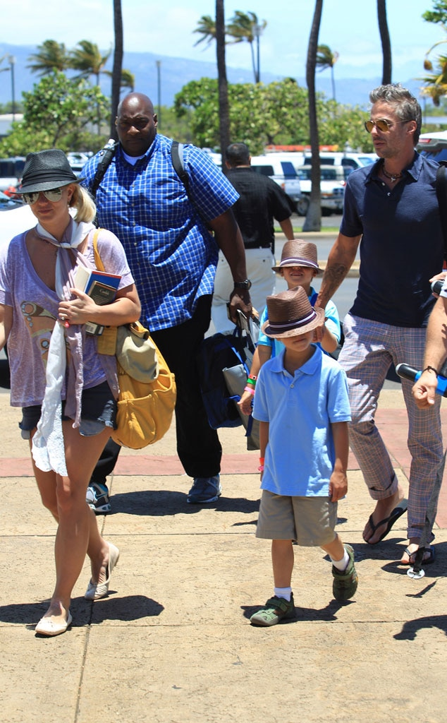 Britney Spears, Jason Trawick, Jayden James Federline, Sean Preston Federline