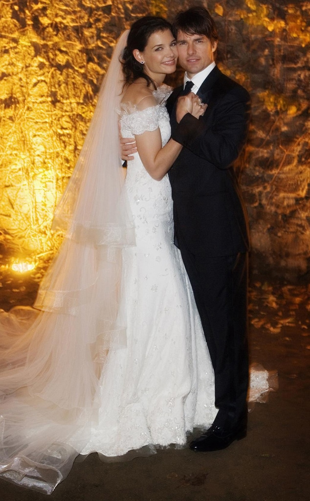 Katie Holmes, Tom Cruise Official Wedding Photo