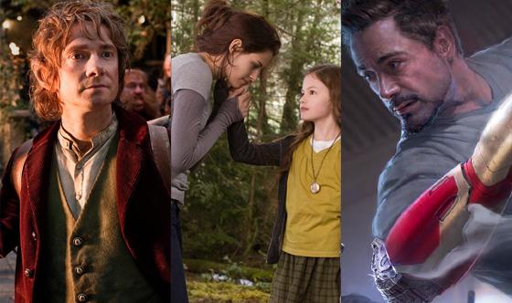 The Hobbit, Breaking Dawn, Iron Man