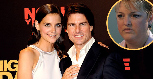 Katie Holmes, Tom Cruise, Amy Scobee