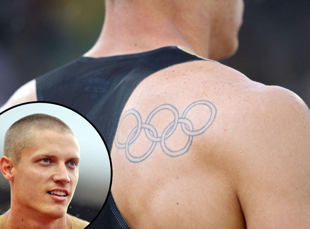 Olympic Rings Tattoos, Trey Hardee
