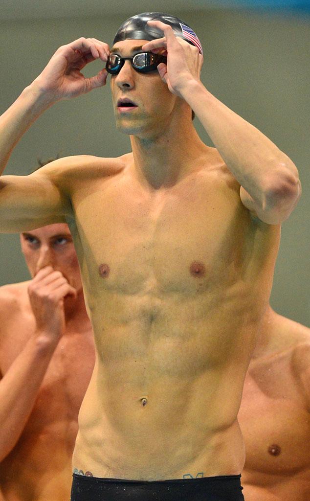 Olympic Rings Tattoos, Michael Phelps