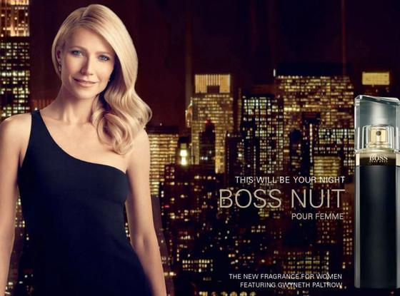Gwyneth Paltrow, Hugo Boss Ad