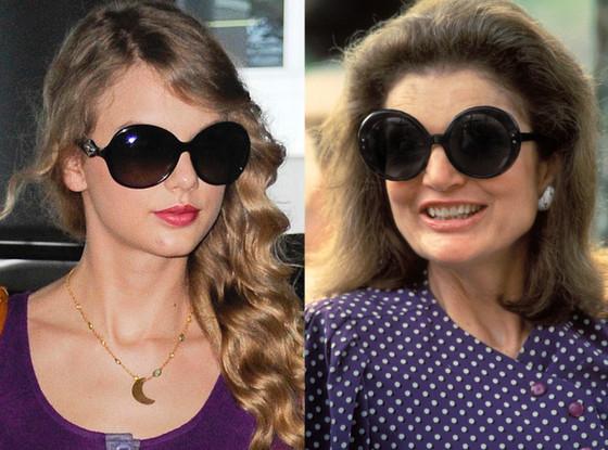 Taylor Swift, Jackie Kennedy, Big Glasses