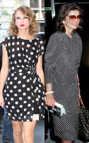 Taylor Swift, Jacqueline Kennedy, Polka Dot