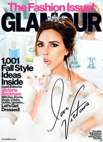 Victoria Beckham, Glamour, September cover